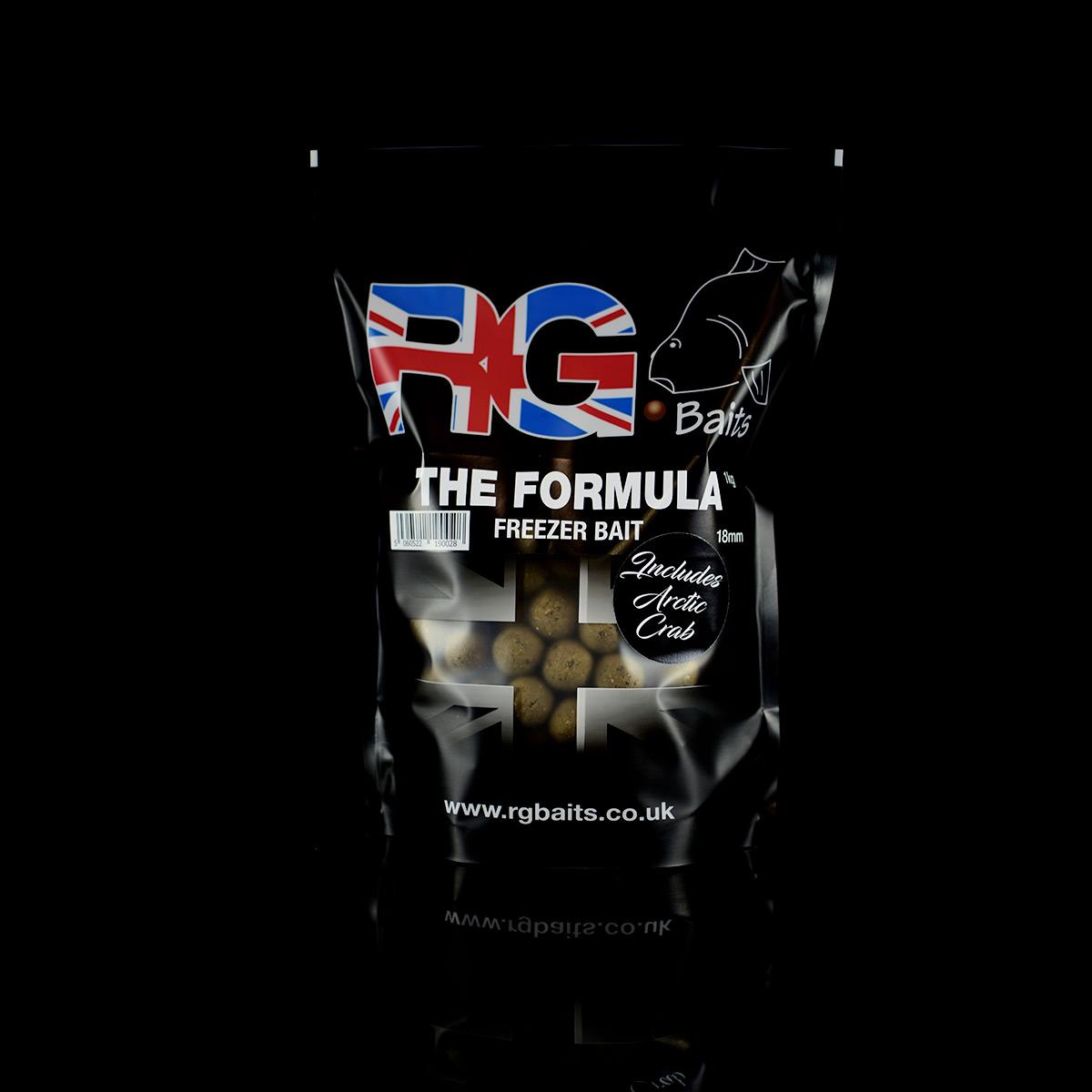 The Formula + Arctic Crab Freezer Bait