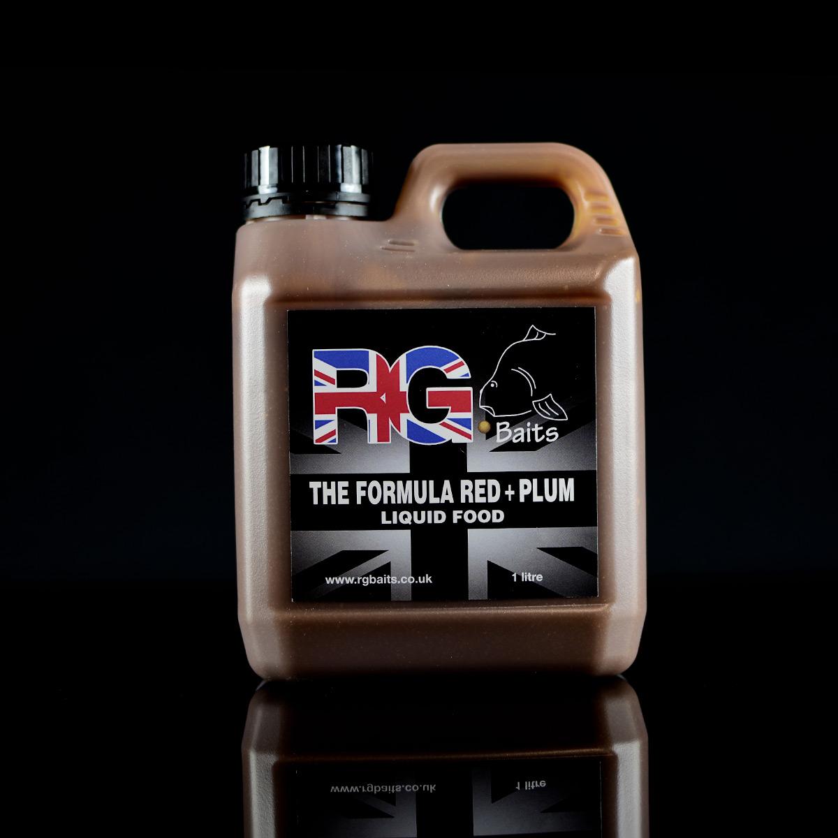 The Formula Red + NI Plum Liquid Food